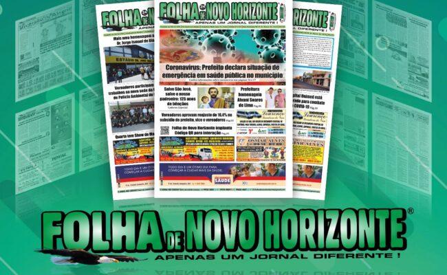 FOLHA DE NOVO HORIZONTE